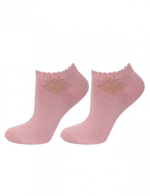 SKARPETY MARILYN FOOTIES GOLDEN FLY S33