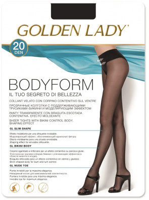 RAJSTOPY GOLDEN LADY BODY FORM 20