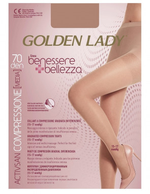 RAJSTOPY GOLDEN LADY BENESSERE BELLEZZA 70