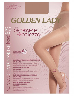 RAJSTOPY GOLDEN LADY BENESSERE BELLEZZA 140
